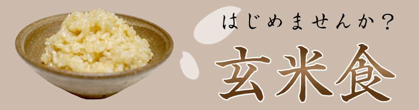 玄米食について