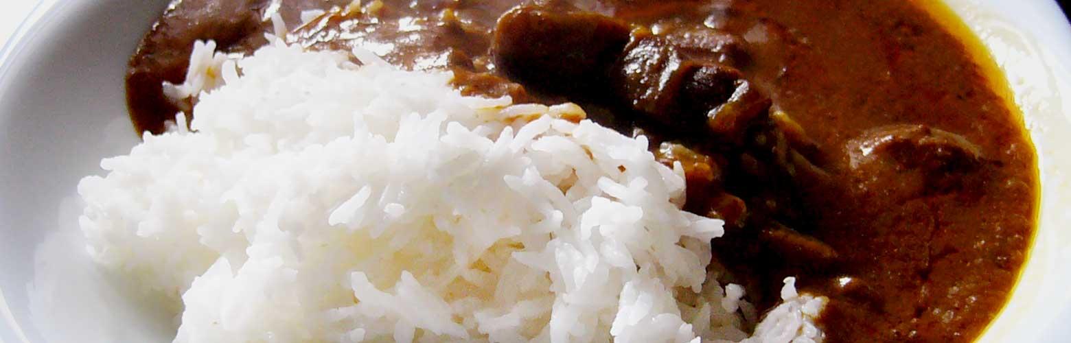 レンジで5分!手軽で本格的なカレーのお米